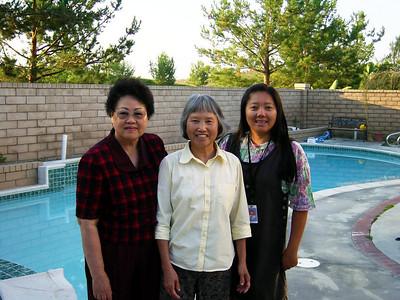 7/31/2003 - Luby's Mom Visit