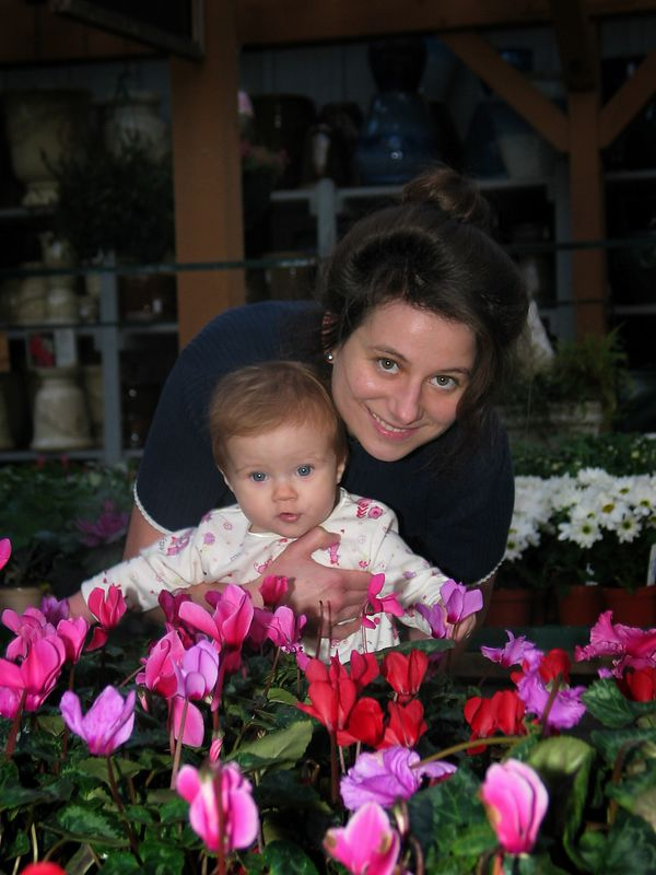 11/16 - Lili thinks these flowers taste as good as they look :-)