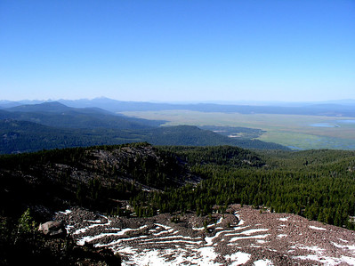from the top of Pelican Butte