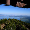 Klamath Lake and Eagle Ridge from the top of Pelican Butte