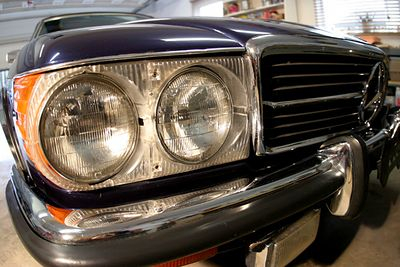 Mercedes Headlight 2 72