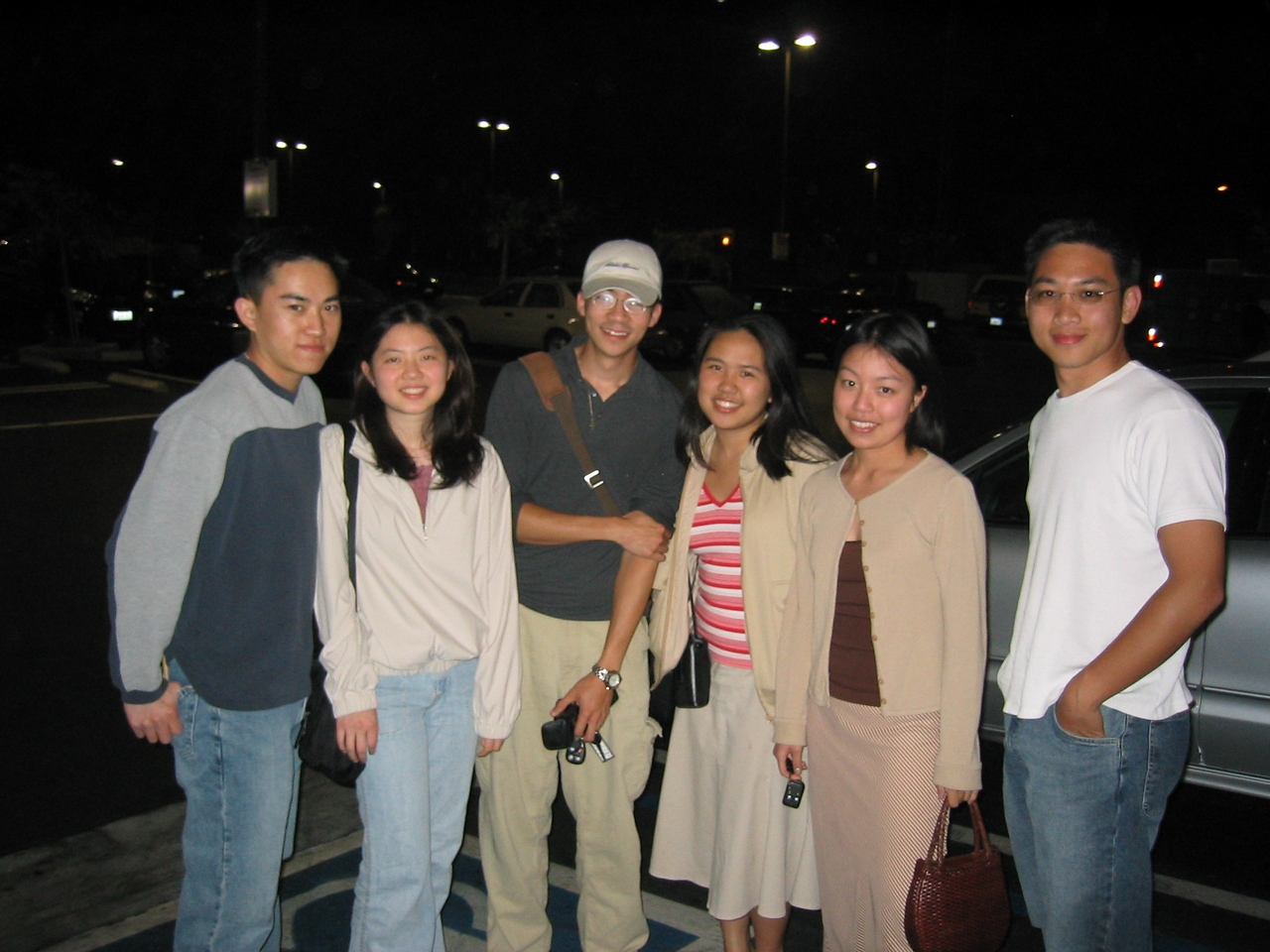 Group pic after crepes @ Alhambra, Monday 6 2 2003
