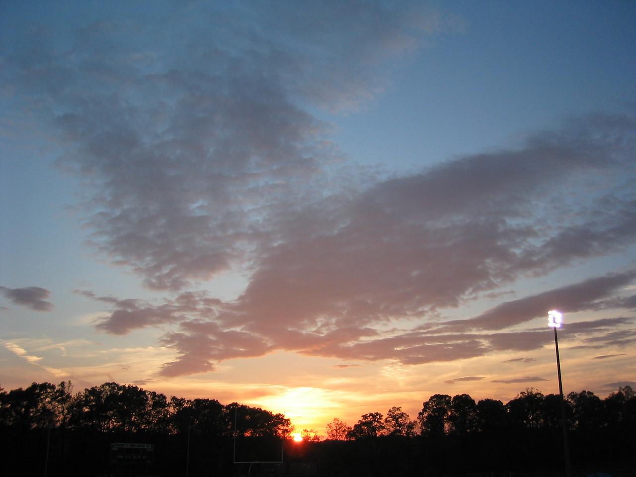 2003 11 01 Saturday - Setting Sun
