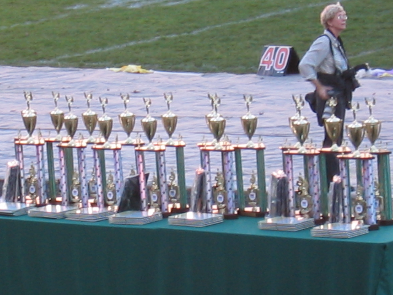 2003 11 01 Saturday - The trophies