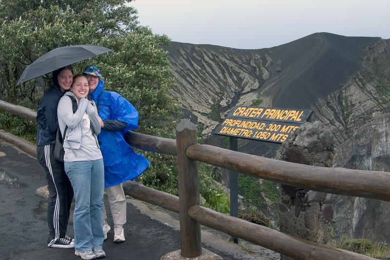 Trip to Volcan Irazu, Costa Rica