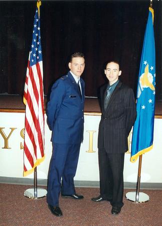 2004 David's 2nd Lt Graduation at Maxwell AFB