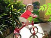 06/25 - Lili got her first tricycle from our neighbors the Lilie family