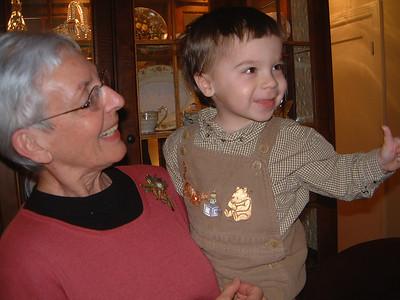 Grandma & Grandpa T Visit