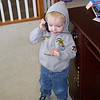 Grant seemed to think the mouse was the phone.  He liked to hold it to his ear.
