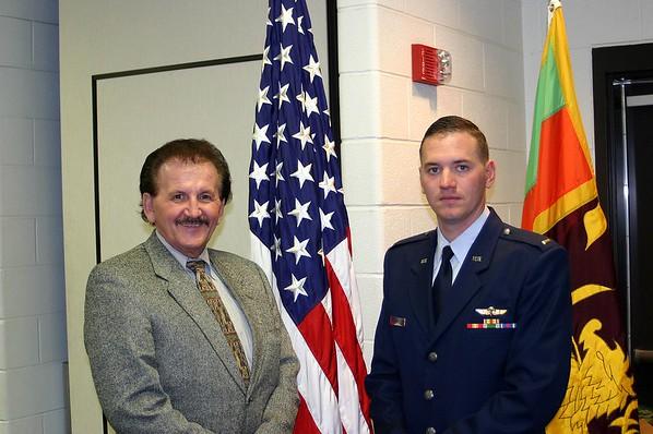2005 April 22  David & Me in San Antonio Graduation