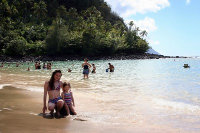 9/21 - Kee beach on the island of Kauai
