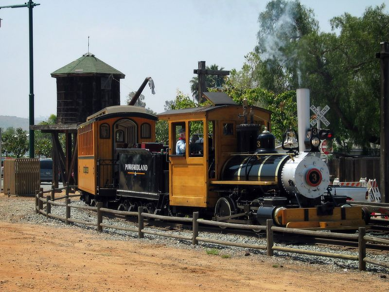 "4/30 - The <a href=""http://www.powaymidlandrr.org/"" target=""_blank"">Poway-Midland Railroad</a>. Lili loves it so much., we go there almost every week."