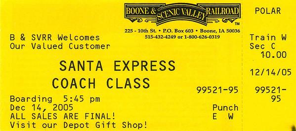 2005 Polar Express