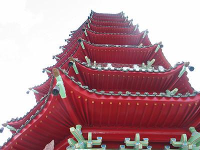 208 - TSEN Pagoda, Sun Moon Lake