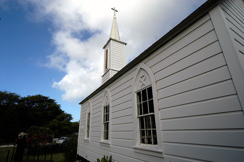 (11-09-2005) Our Lady of Seven Sorrows Church on Molokai.  This Church was built by Father Damien.
