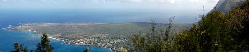 20051107_Kalaupapa lookout panorama 2