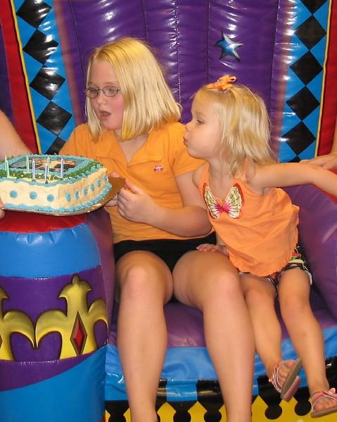 2005-08-19  McKenzie's 9th Birthday #16