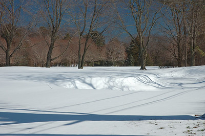 YOu will need your Snow Wedge not your sand wedge........