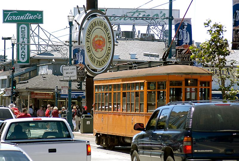 6-29-2005 -- The heart of Fisherman's Wharf in San Francisco.