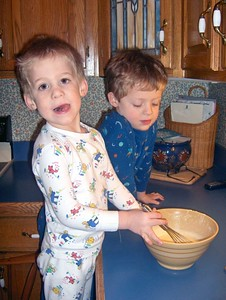 Alex & Brady Cooking