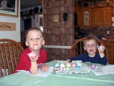 Alex & Brady Eggs