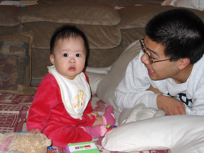 nov 22, 05 on the floor with daddy
