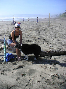 Anita and Joy at Seascape beach