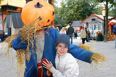 2006-10-14 Pernille og  Halloween i Tivoli