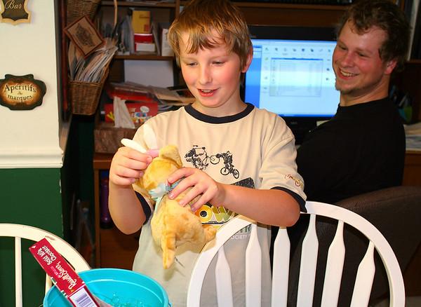 Joshua and Tim - Easter 2006