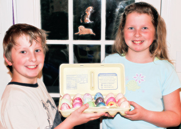 Joshua and Abigail - Easter 2006