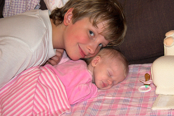 Joshua and Chloe, May 17th 2006