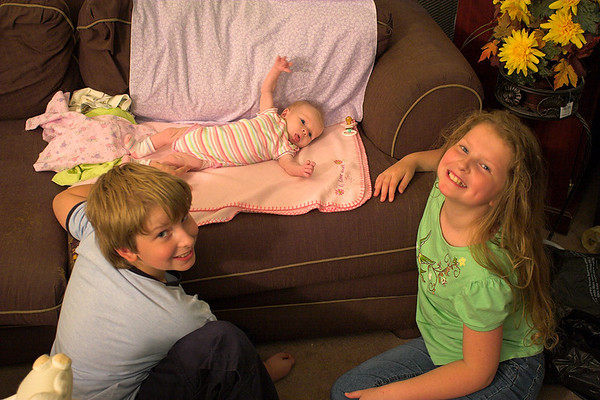 Joshua, Chloe, and Abigail - May 21st, 2006