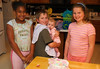 Brianna, Joshua, Chloe, and Abigail - Mom's Birthday, August 4th, 2006