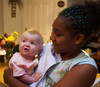 Chloe and Brianna - August 4th 2006