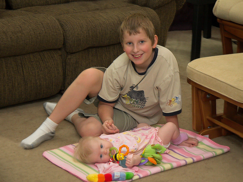 Joshua & Chloe, August 13th 2006