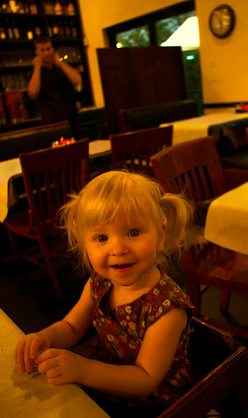 Chloe Lorraine Howland - Uncle Gio's Italian Restaurant  - October 2007