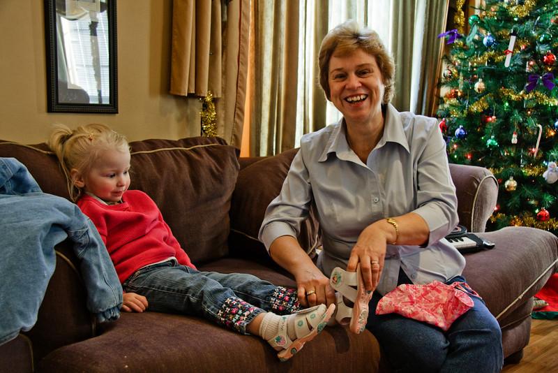 Chloe Lorraine Howland and Grandma Faith Lorraine Howland