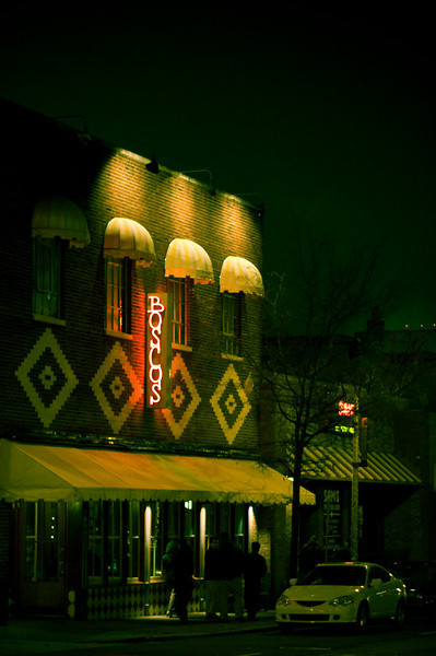 Boscos on 21st Avenue, Nashville  - That's us out front.  I'll post a brighter one later: you can actually see Chad looking at the camera.