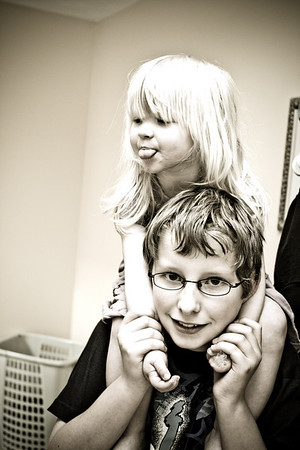 Chloe and Joshua,  May 2008