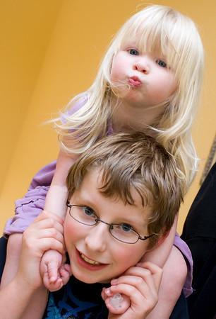 Chloe and Joshua,  May 2008