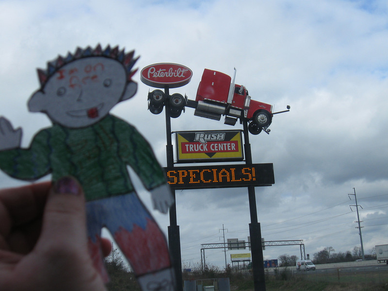 A better picture of the Peterbilt sign :)