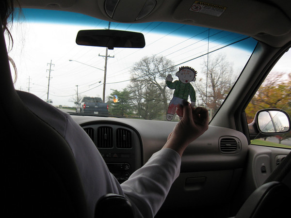 Well, well, well...lookie who it is...the original Flat Stanley decided to come back to us!
