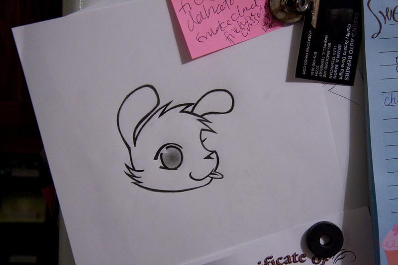 Abby's Artwork - Pencil - July 2009
