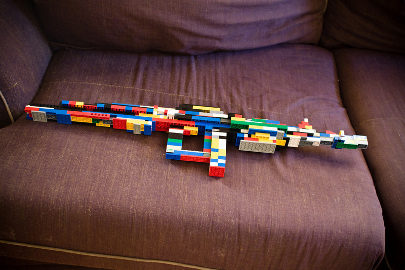 March 18th, 2009 - Joshua's Lego Rifle