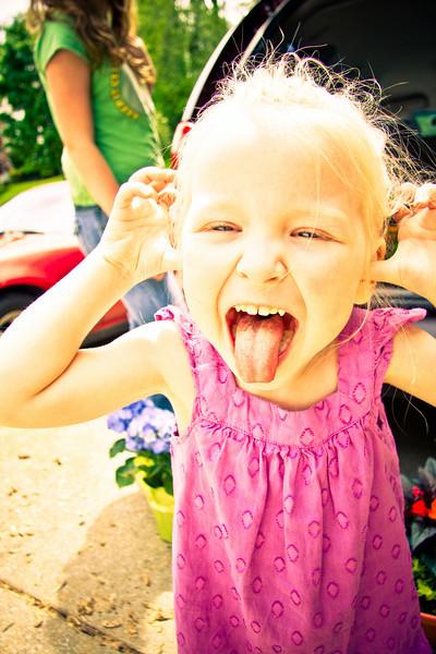Chloe, Age 3 - May 2009