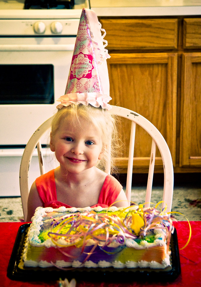 Chloe, 4th Birthday, 2010