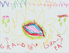 Drawing for Grandpa Howland on his 60th birthday - by granddaughter, Chloe, age 5 -  March 2011