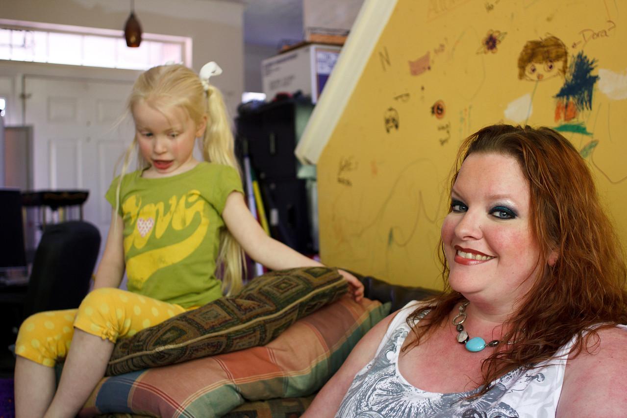 Chloe and Jenn - April 2011