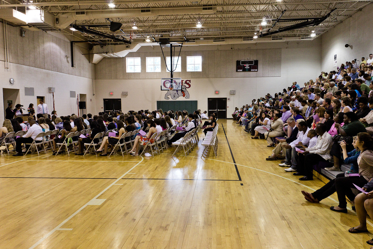 Graduation / Award Ceremony at Oliver Middle School in Nashville - May 25, 2011