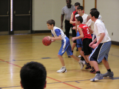 2006 Jan - Brennan's Basketball Game